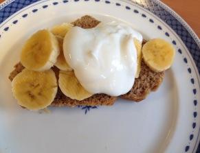 Pan de banana low fat